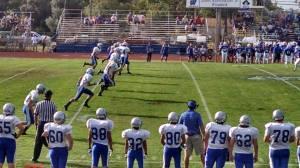 Huskies first football game 2015